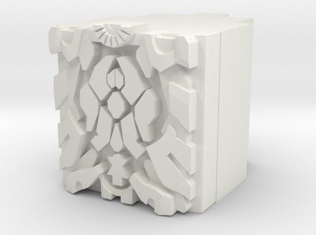 Amalgamous Prime Power Core in White Natural Versatile Plastic