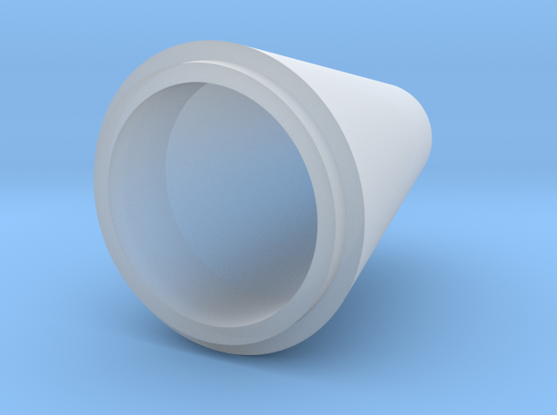 conical spinner for 65mm rotor in Smooth Fine Detail Plastic