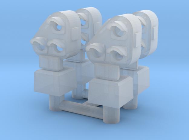 N NS gekanteld dwergsein 4 stuks in Smoothest Fine Detail Plastic