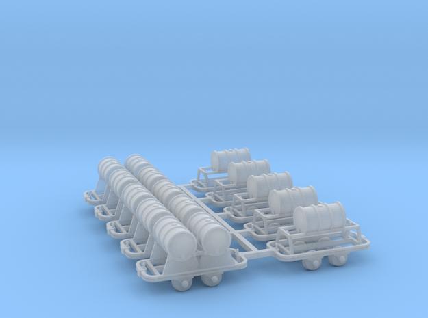 Feldbahn Set3 - TTf 1:120 in Smooth Fine Detail Plastic