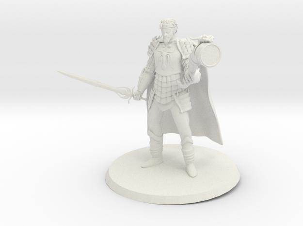 Euron Greyjoy in White Natural Versatile Plastic