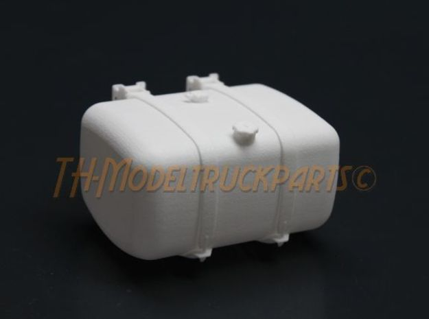 THM 00.3132-072 Fuel tank Tamiya Actros Lowliner in White Processed Versatile Plastic