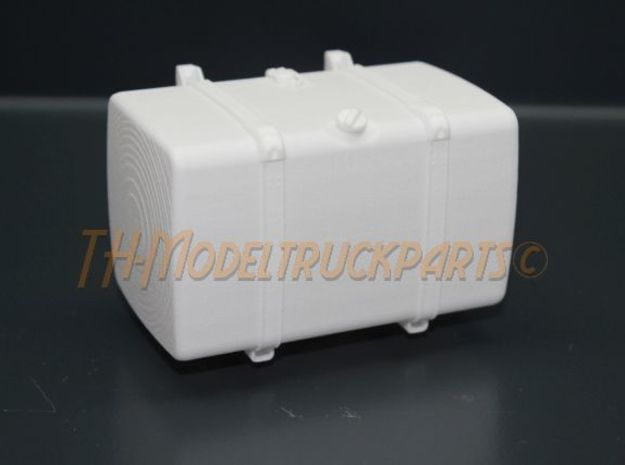 THM 00.4102-089 Fuel tank Tamiya Scania in White Processed Versatile Plastic