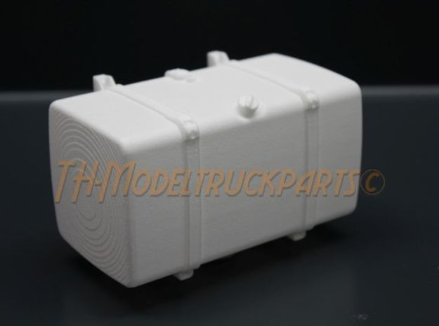 THM 00.4102-100 Fuel tank Tamiya Scania in White Processed Versatile Plastic