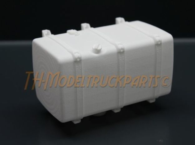 THM 00.4103-100 Fuel tank Tamiya Scania in White Processed Versatile Plastic