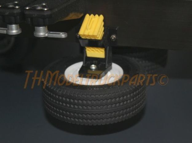 THM 04.8080 Spare wheel Tamiya trailer in White Processed Versatile Plastic