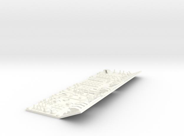 1.7 S27 / SU30 SIDE PANEL DROIT in White Processed Versatile Plastic