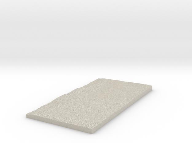 Model of Vale do Junco in Natural Sandstone