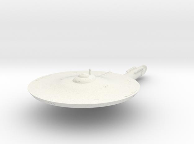 2500 Tuscon class TOS in White Natural Versatile Plastic