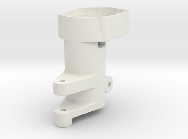 MST CFX-W Rear Steering Lockout in White Natural Versatile Plastic