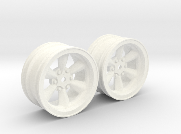 Wheels - 26mm Touring - 934RSRBlack +4mm Offset in White Processed Versatile Plastic