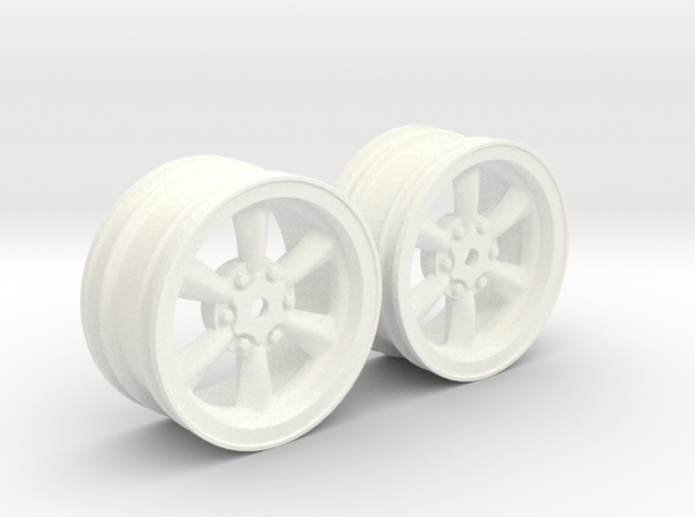 Wheels - 26mm Touring - 934RSRBlack 0mm Offset v2 in White Processed Versatile Plastic