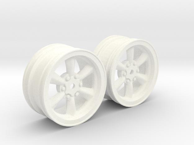 Wheels - 26mm Touring - 934RSRBlack 0mm Offset v2 in White Processed Versatile Plastic