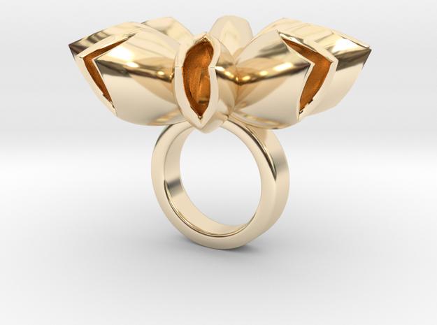 Spritlo small - Bjou Designs in 14k Gold Plated Brass