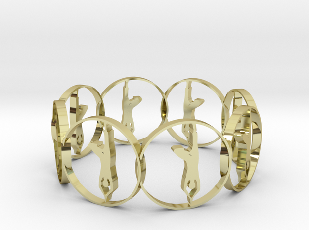 c in 18K Yellow Gold