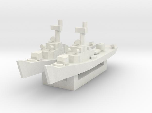 Soviet Petya class Frigate 1/2400 x2 in White Natural Versatile Plastic