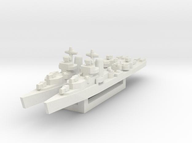 Benham class destroyer 1/1800 x2