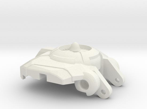 Doom Lounger's Chest V2 in White Natural Versatile Plastic