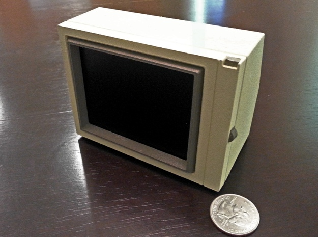 Apple Monitor II in White Natural Versatile Plastic