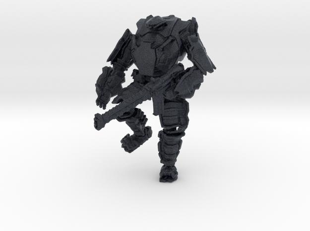 Combat Walker, 15mm Scale, Unbased in Black Professional Plastic