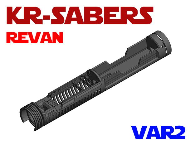 KRxOR - Revan Var2 in White Natural Versatile Plastic