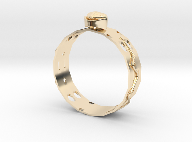 GoldRing MANYHOLE in 14K Yellow Gold