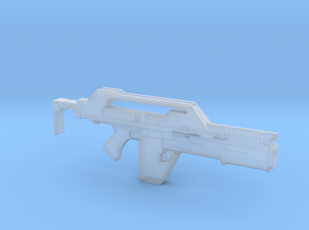 pulse rifle 1/18scale in Smoothest Fine Detail Plastic