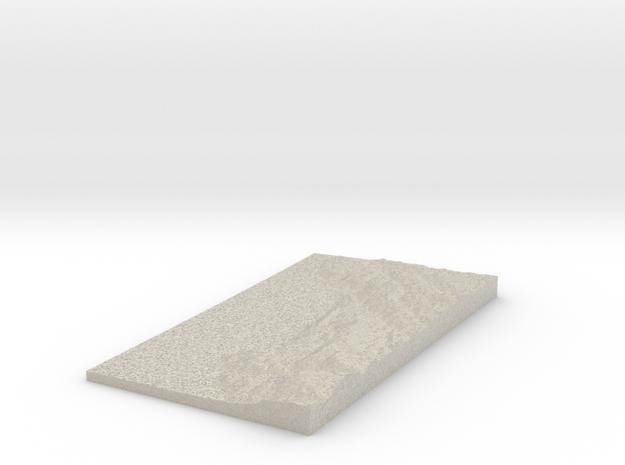 Model of Maghāyir Shu'ayb in Natural Sandstone