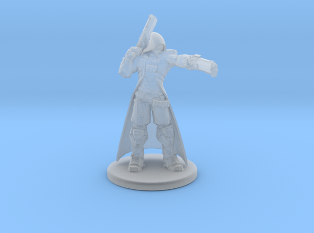 Overwatch Reaper 1/60 miniature for rpg and games in Smooth Fine Detail Plastic