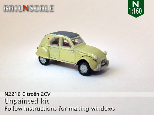Citroën 2CV 1961-'65 (N 1:160) in Frosted Ultra Detail