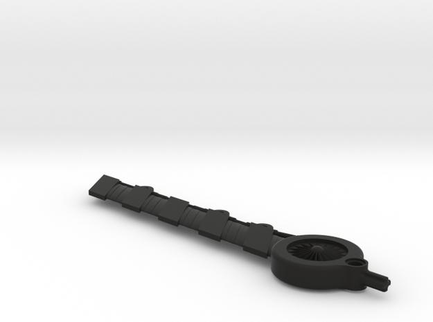 Unnamed blade 2 in Black Natural Versatile Plastic