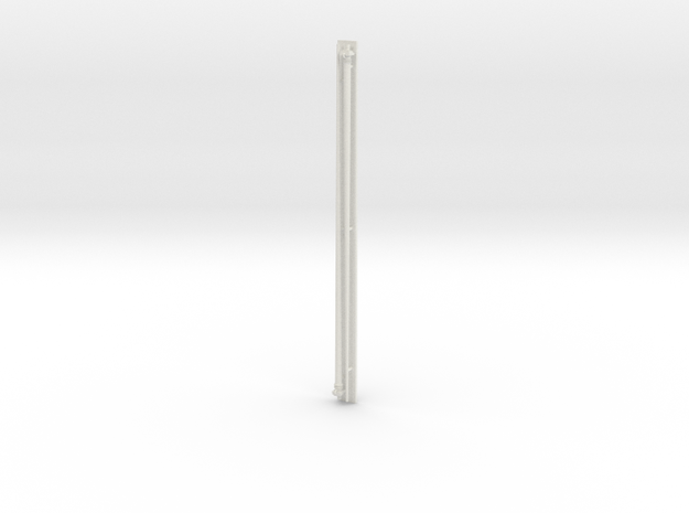 1:96 scale Navy whip antenna -Round (35 Foot) in White Natural Versatile Plastic