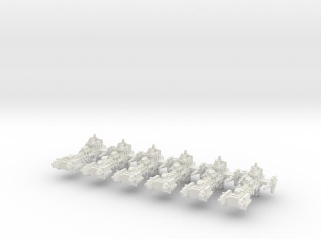 Fragata Gladius  in White Natural Versatile Plastic