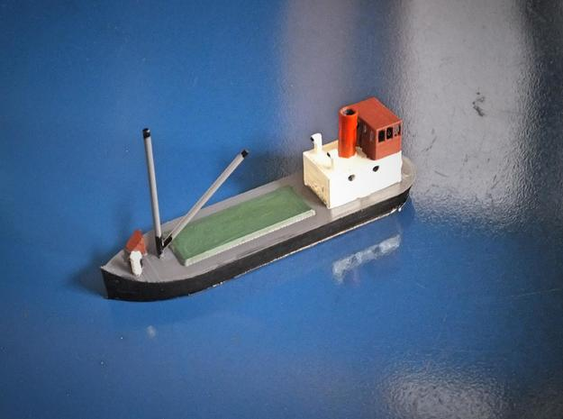 N gauge Puffer in White Natural Versatile Plastic