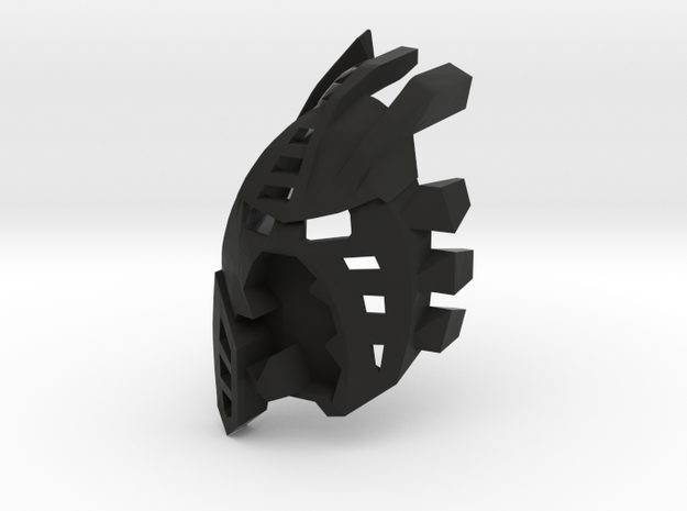The Mask Of Light And Shadows V2 in Black Natural Versatile Plastic