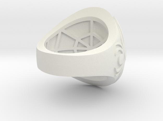 Ring award - capitola engraved in White Natural Versatile Plastic
