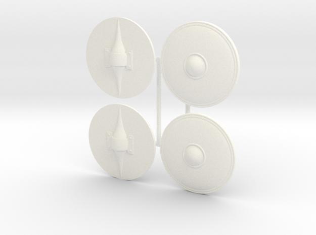 DIMITRIS 12 VELITES  in White Processed Versatile Plastic