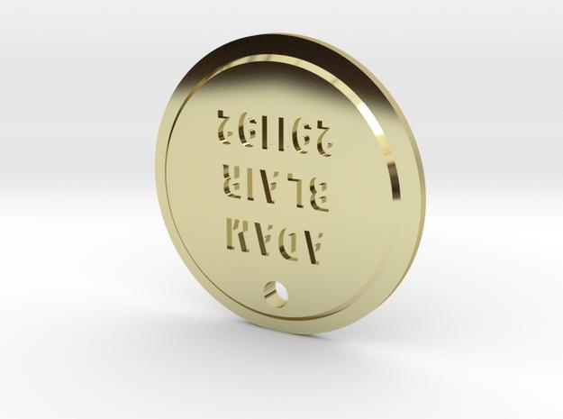 TLOU Firefly Pendant - Adam Blair-291192 in 18k Gold Plated Brass