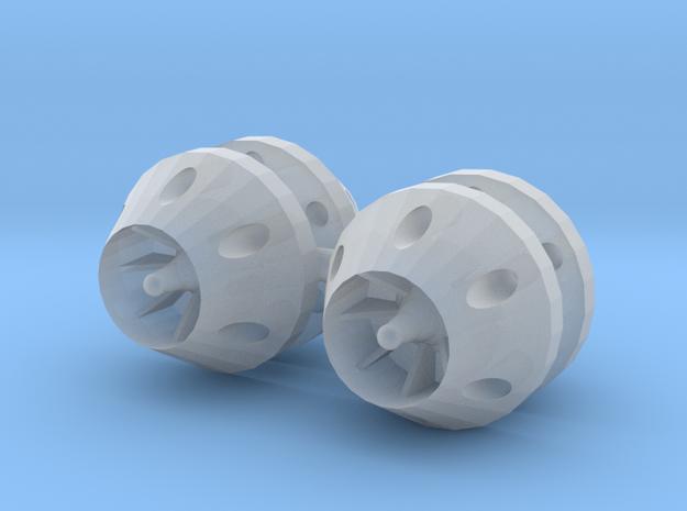 1/24 - 1/25 anti grav thrusters in Smooth Fine Detail Plastic
