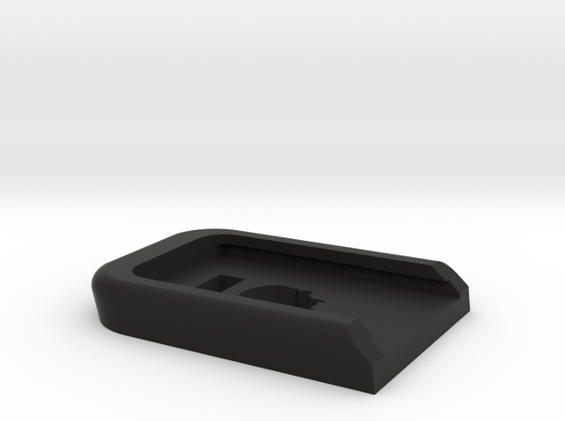 Deranged WE/TM glock baseplate in Black Natural Versatile Plastic