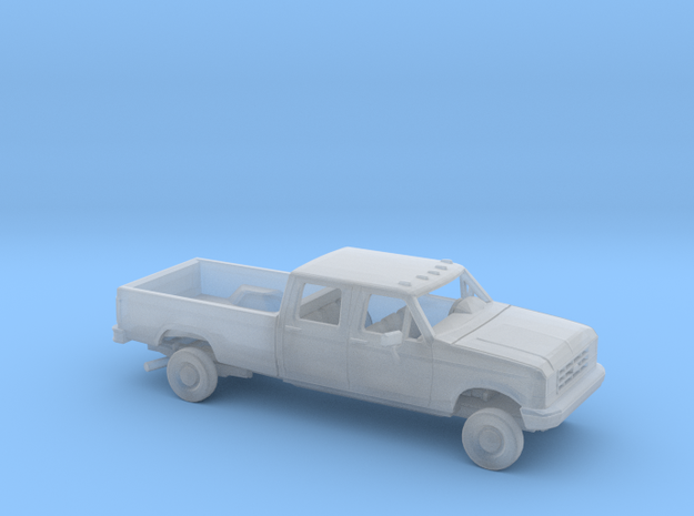 1/160 1987-91 Ford F-Series CrewCab Reg Bed Kit in Smooth Fine Detail Plastic