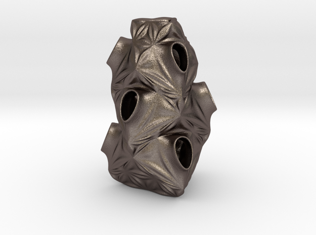 Tesq 33* in Polished Bronzed-Silver Steel