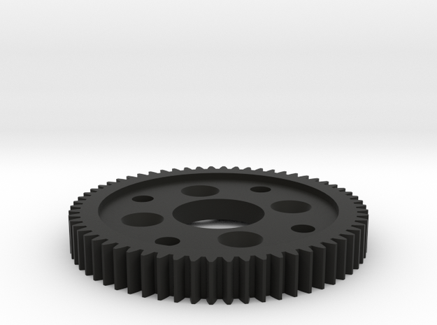Reely TC-04 62T Tooth Spur Gear in Black Natural Versatile Plastic