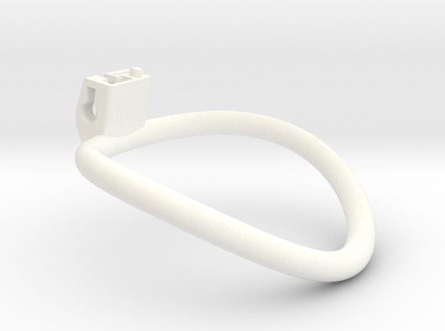 Cherry Keeper Ring - 70mm in White Processed Versatile Plastic