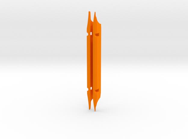 """M26X 1968-2003 TD=20.7mm  7.5"""" spread in Orange Processed Versatile Plastic"""
