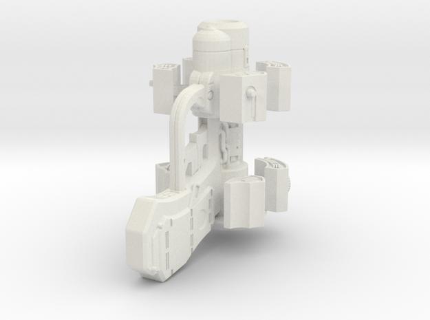 Miniature X-Gun - Gantz in White Natural Versatile Plastic