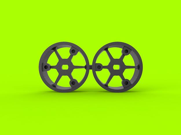 "4WD - ""No glue !"" - Ø19,5mm - 0 in White Natural Versatile Plastic"