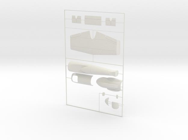 "1/48 Heinkel Projekt P.1077 ""Julia"" in White Natural Versatile Plastic"