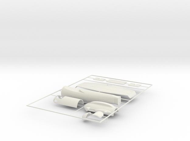 "1/24 Heinkel Projekt P.1077 ""Julia""  in White Natural Versatile Plastic"