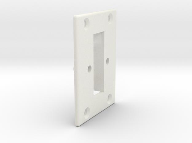 08.01.02.03.01.04 Switch Body (3) in White Natural Versatile Plastic